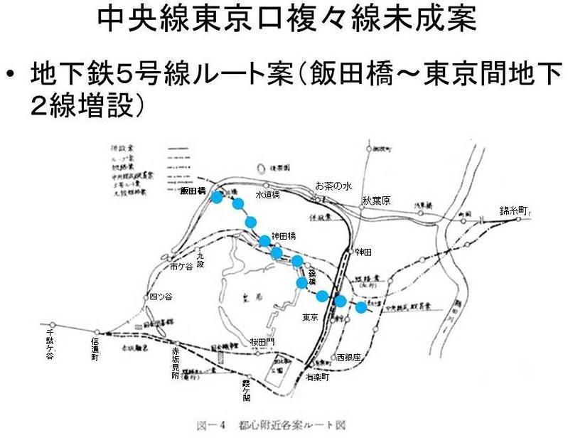 中央線東京口複々線化未成線案 (7)