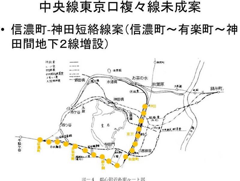 中央線東京口複々線化未成線案 (3)