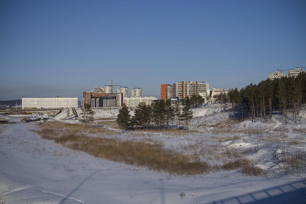Кемерово. Центральный район.