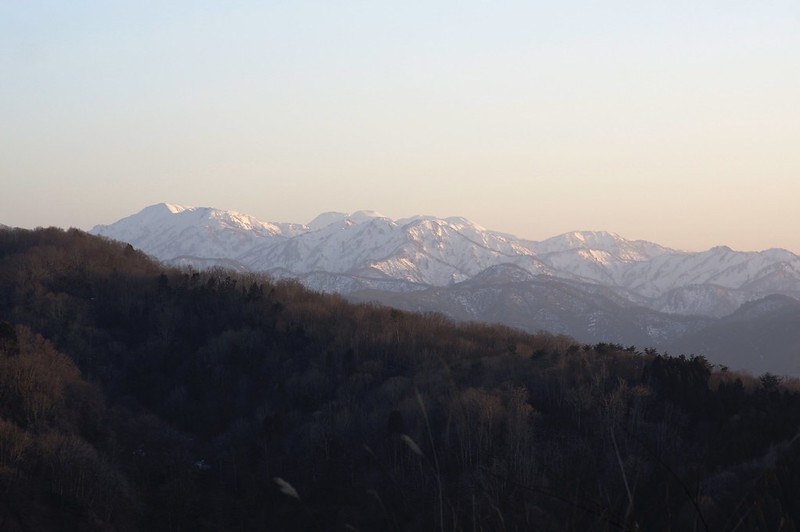 西尾平からの白山