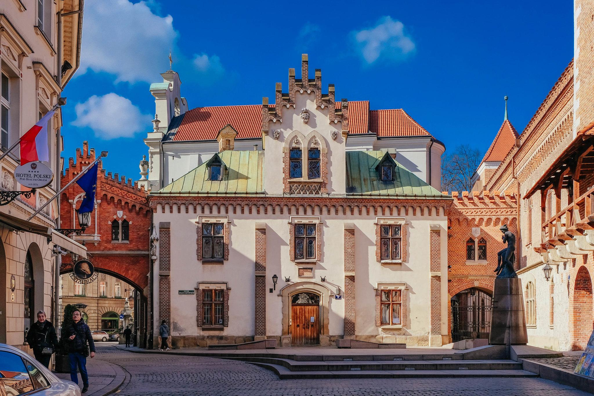 Around the corner from the Czartoryski Museum