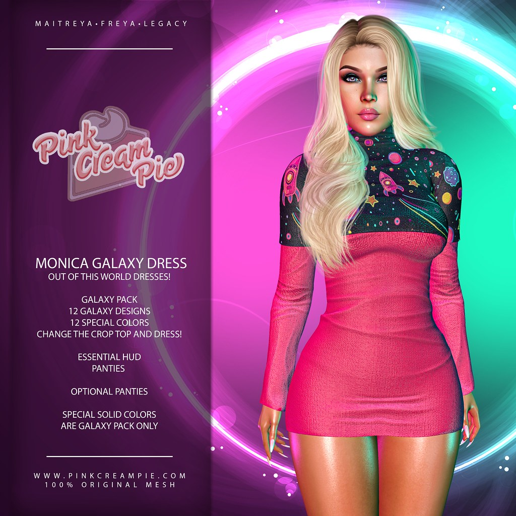 Monica Galaxy Dresses @ Fly Buy Friday