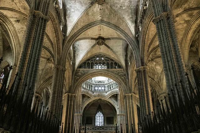 2019-11 04 Barcelona Cathedral, Barcelona, Spain.