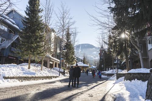 Whistler Village Winter 19 10