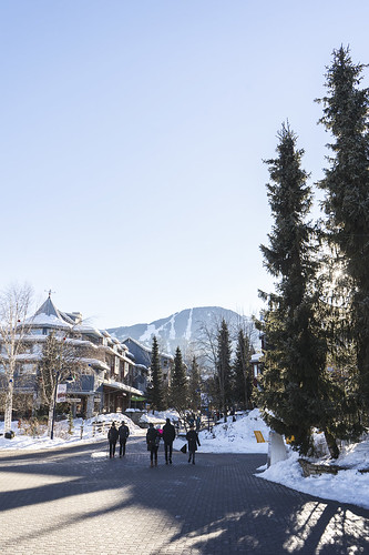 Whistler Village Winter 19 8