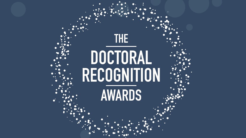 The Doctoral Recognition Awards logo