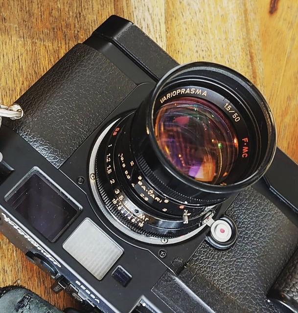 宮崎光學 50mm f1.5 Kino Plasmat傳說再生