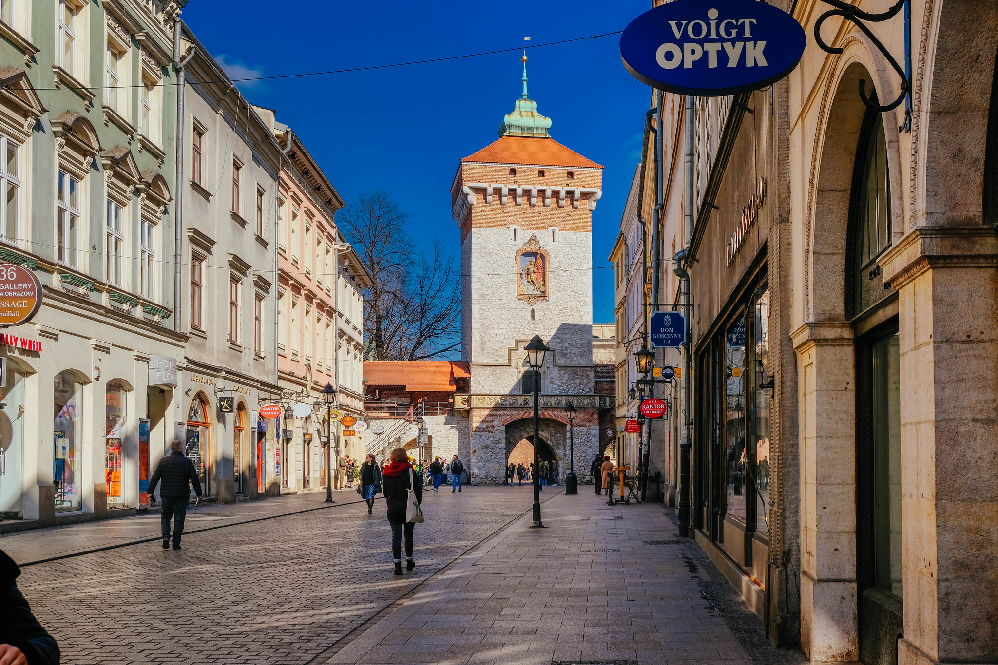 The centre of old Kraków