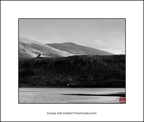 Saksunar Kirkja, view from the Pollurin, Faroe Islands | by Hans ter Horst Photography