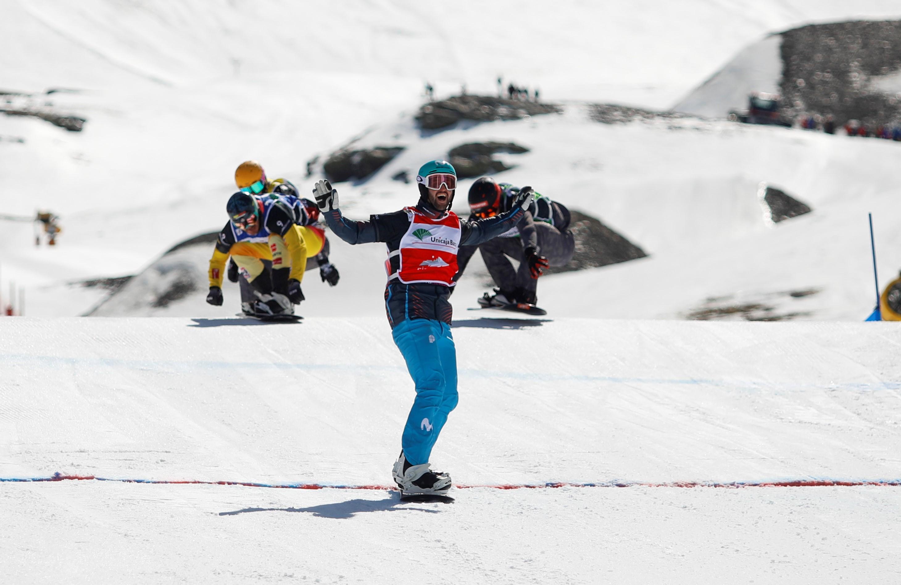 Lucas Eguibar gana en Sierra Nevada