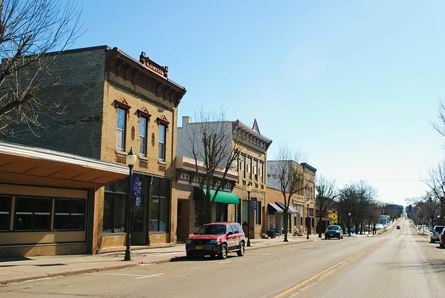 Main Street, Poynette, Wisconsin