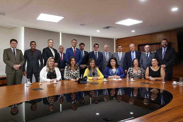 03.03.2020 - Reunião da Comissão de Relacionamento com o Poder Judiciário Estadual