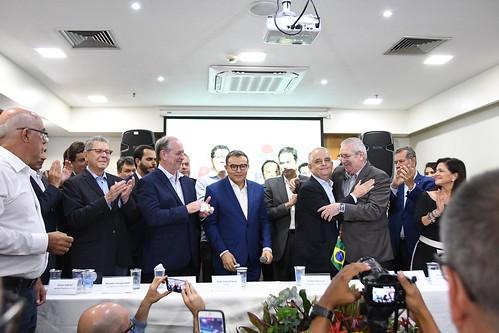 Ato político de formalização de apoio do PDT à pré-candidatura de Márcio França à Prefeitura de São Paulo - 12/3/2020