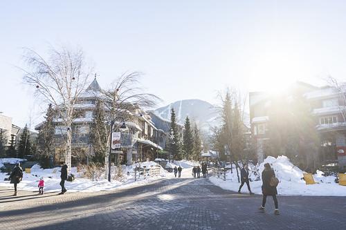 Whistler Village Winter 19 9