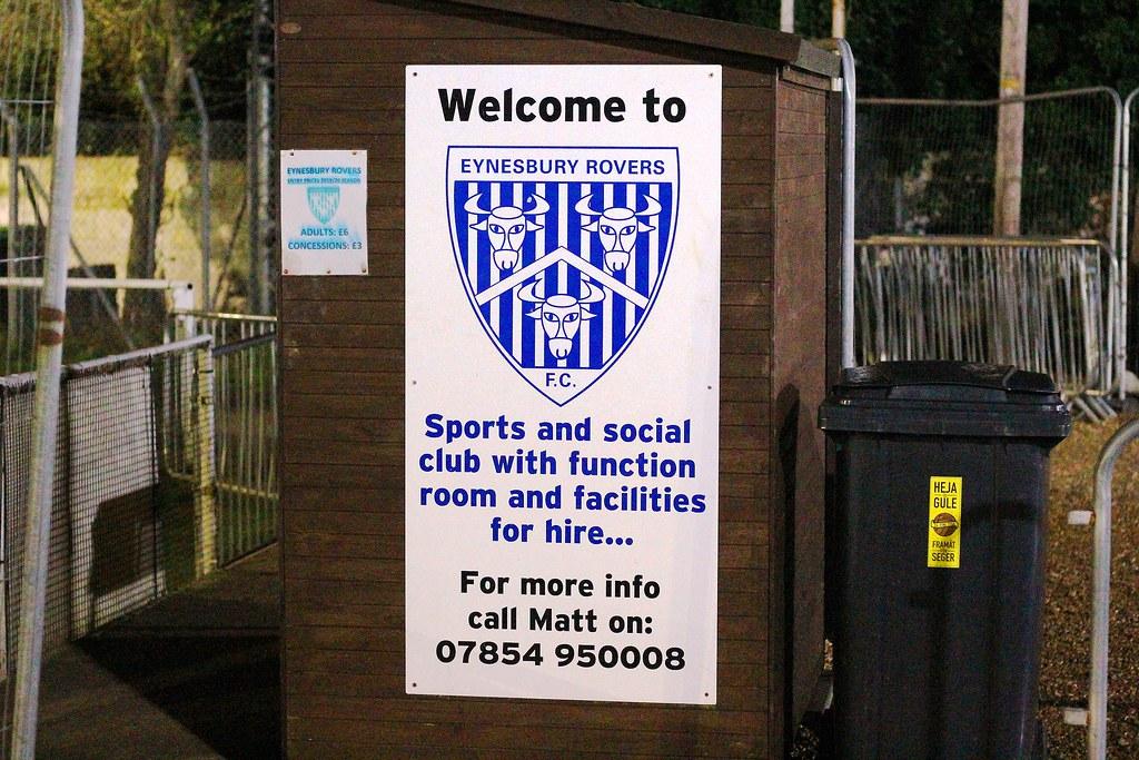 Eynesbury Rovers v Biggleswade United SSMFL