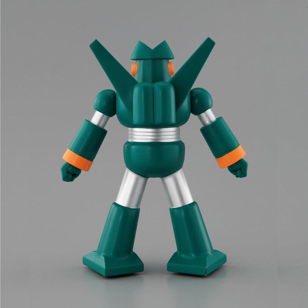 挺立吧!最強機器人登場!BANDAI《蠟筆小新》康達姆機器人 PVC可動作品(カンタム・ロボソフビ)