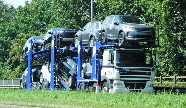 GBA Group Car Transporter DAF CF 85.460