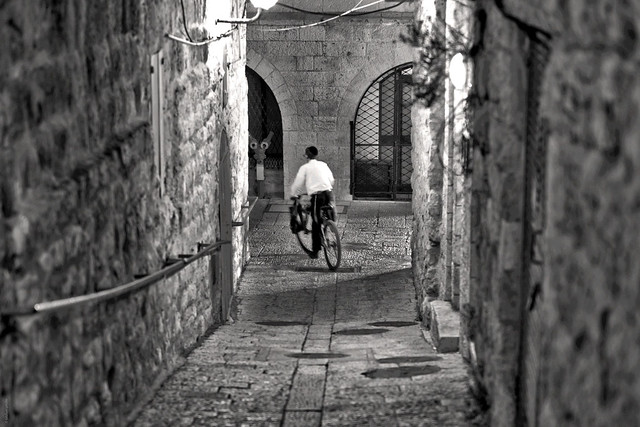 Turning Left in the Jewish Quarter
