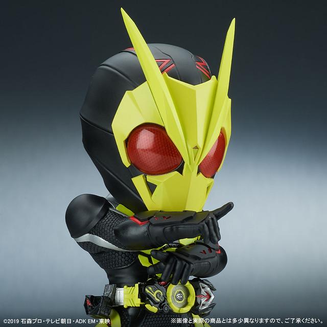 再現全身發光造型!X-PLUS DEFOREAL《假面騎士01》假面騎士 ZERO-ONE 躍昇蝗蟲型態(デフォリアル 仮面ライダーゼロワン ライジングホッパー)