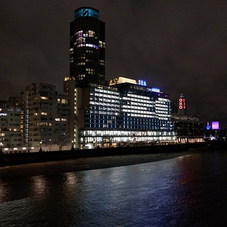 Sea Containers, South Bank Tower, OXO Tower | by runningwithbulls.com