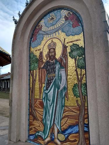 gorovei romania motorola architecture mozaic painting monastery