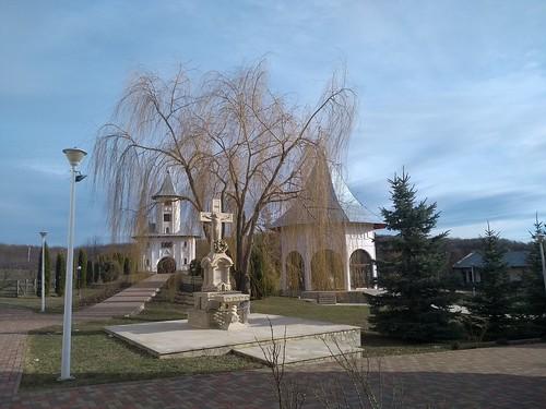gorovei romania motorola architecture monastery trees cross lamp tree sky