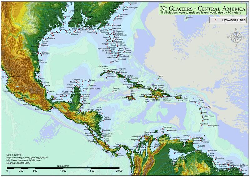 No Glaciers - Central America