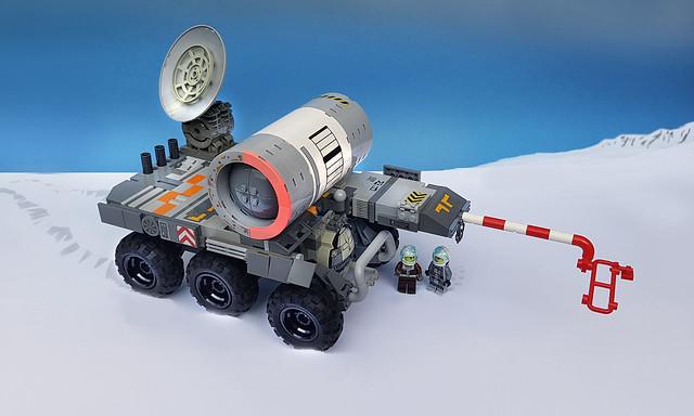 Hibernia: Traverse rover