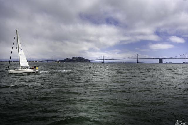 Boat trip in the San Francisco Bay - California - USA