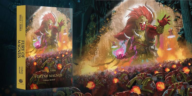 «ЕРЕСЬ ХОРУСА. ОСАДА ТЕРРЫ: ЯРОСТЬ МАГНУСА» | Тhe Siege of Terra: The Fury of Magnus