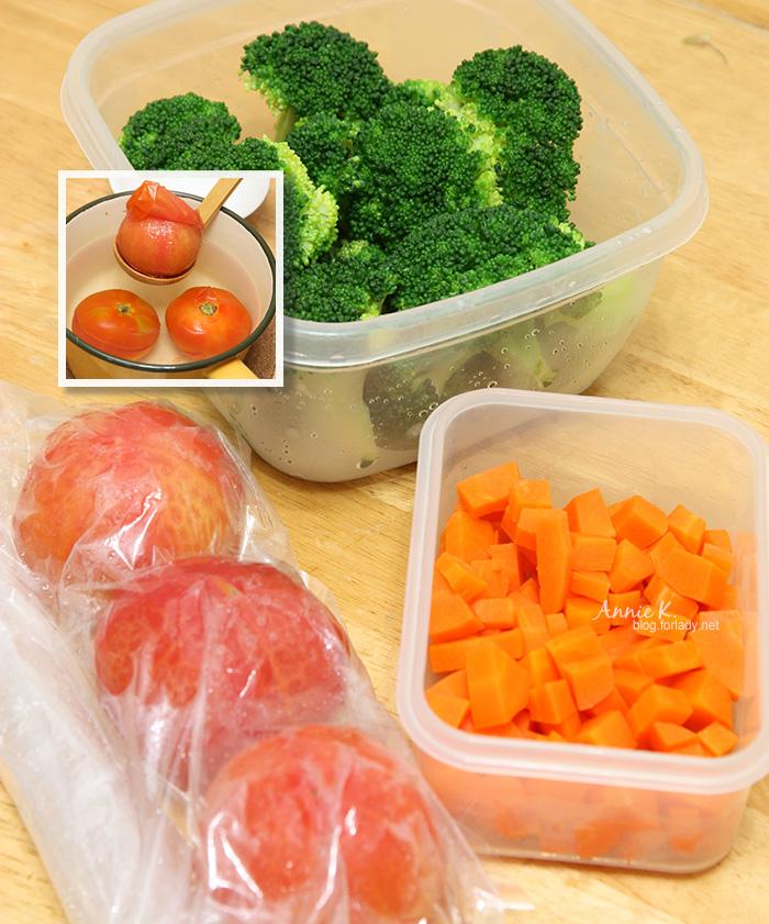 蔬果先煮熟