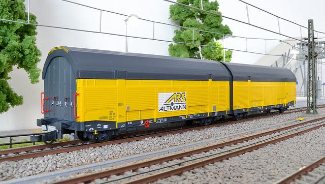 Fleischmann 596001 2-tlg. Autotransportwagen der ARS