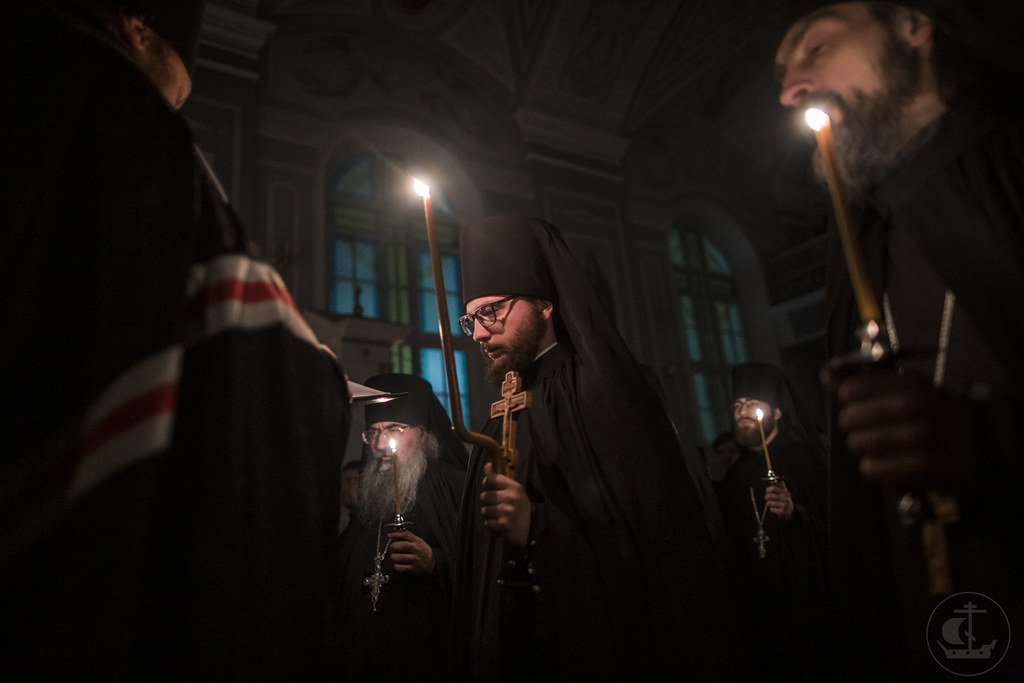 12 марта 2020, Монашеский постриг. Монах Мелитон / 12 March 2020, Monastic vows. Monk Meliton