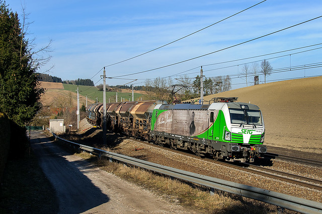 VECTRON 193 831-5, Passau - Linz, Katzbach (A), 23.02.2019