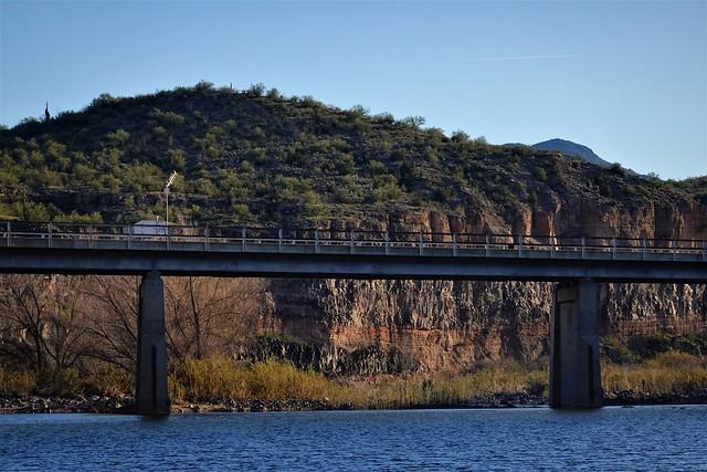 Old Burro Creek Bridge from Below SR602285