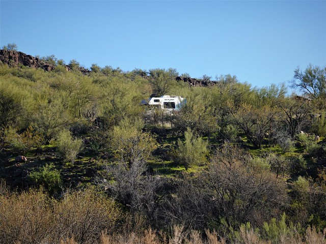 RV as Seen From the Creek SR602267