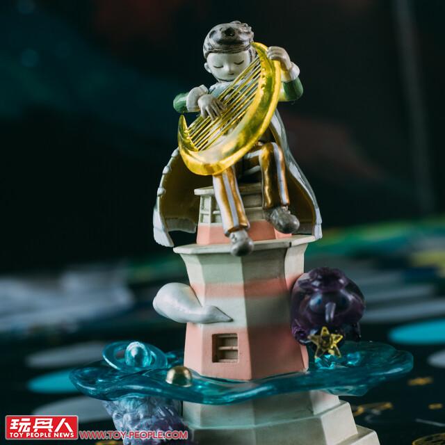 令人驚豔的細緻度與設計巧思! 海洋堂 × Zu and Pi 陋室五月【嘆息星河系列盲抽盒玩第二彈】開箱報告