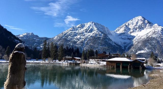 Heiterwangersee bei Garmisch, 12475