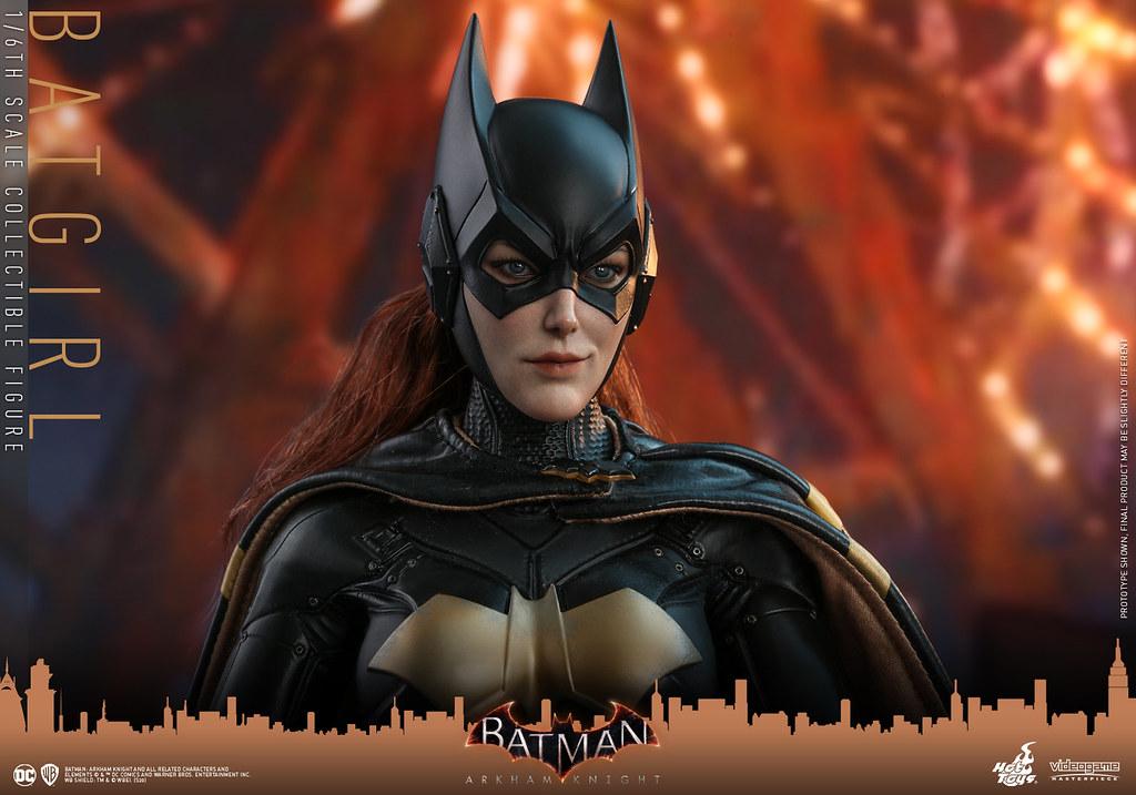 Hot Toys - VGM40 -《蝙蝠俠:阿卡漢騎士》蝙蝠女 Batgirl 1/6 比例人偶