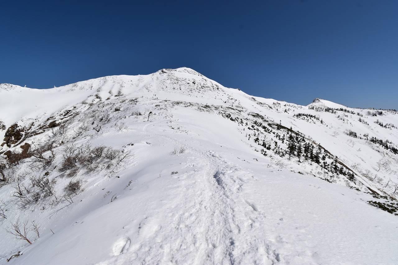 冬の上州武尊山