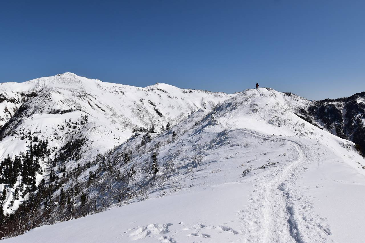 冬の武尊山 日帰り雪山登山