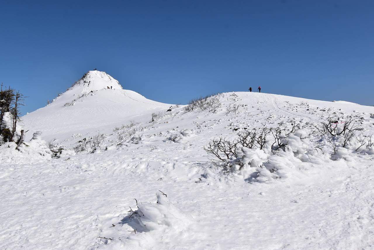 上州武尊山・剣ヶ峰 雪山登山