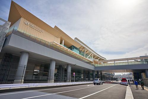 高輪ゲートウェイ駅 開業1日前