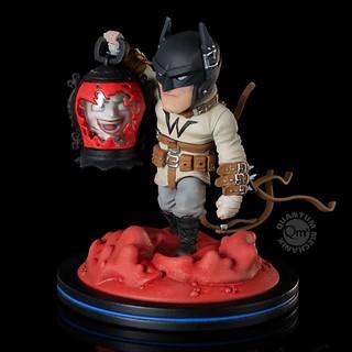 提著小丑的「頭顱」,黑暗騎士將再次奮力一搏! Quantum Mechanix Q-Fig Elite 系列《蝙蝠俠:地球最後的騎士》Batman: Last Knight On Earth