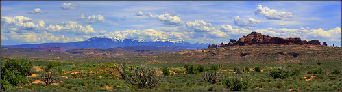Arches Nationalpark, Utah - Panorama [explored]