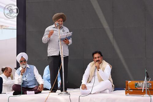 Karam Singh Karam Ji presented Punjabi Kavita