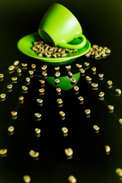 Caffè verde non tostato