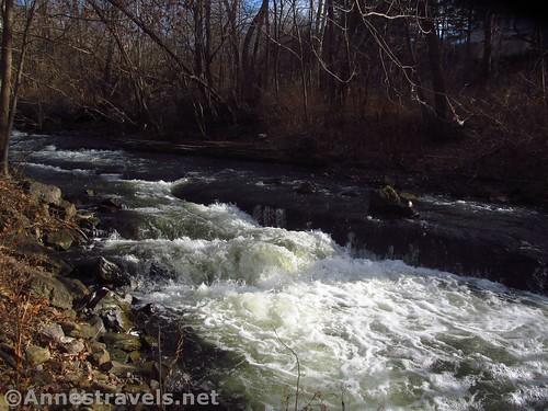 Waterfalls on Irondequoit Creek, Channing H. Philbrick Park, Penfield, New York