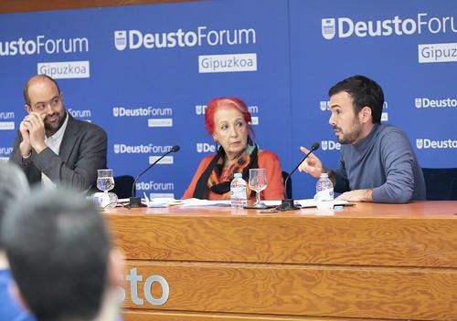 DeustoForum Gipuzkoa. Rosa Mª Calaf y Xabier Madariaga