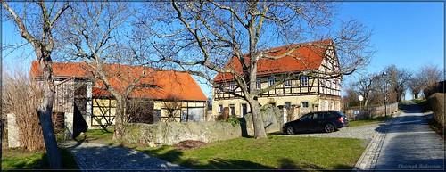 Fachwerkgehöft in Malschendorf